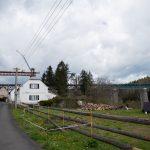 Na Šluknovsku mění železniční most, stavbu zbrzdil vítr i chybějící materiál
